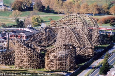 The Best Wooden Roller Coasters In The Us